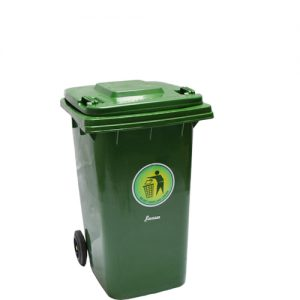Plastic Dustbin Green