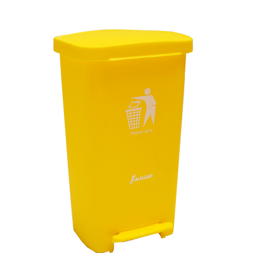 Plastic Dustbin Yellow