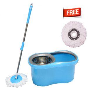 M-015-Blue Spin Mop