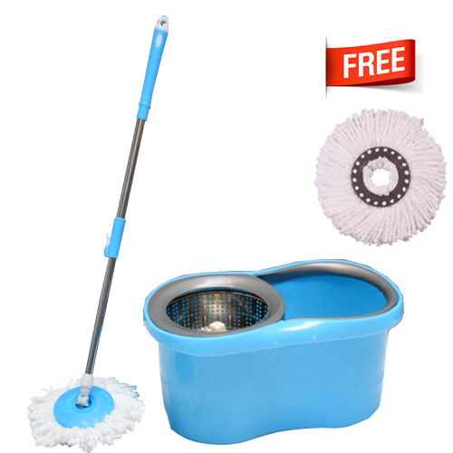 M-015-Blue Spin Mop