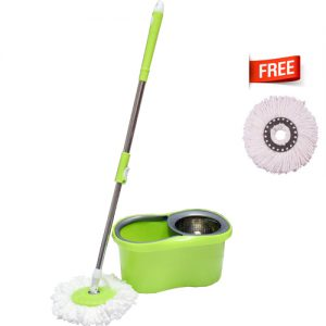 M-015-Green Spin Mop