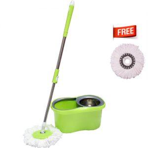 M-015-Green Spin Mop