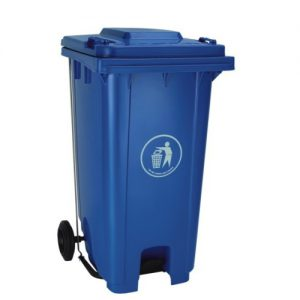 BLUE Dustbin with Pedal