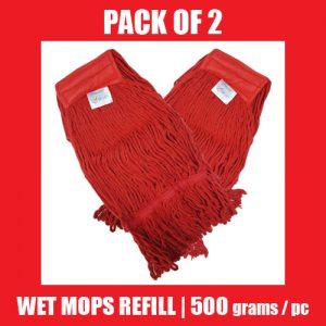Wet Mop Refill - RED