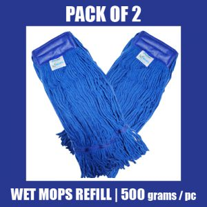 Wet Mop Refill - BLUE