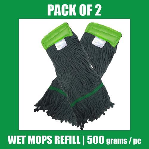 Wet Mop Refill - GREEN