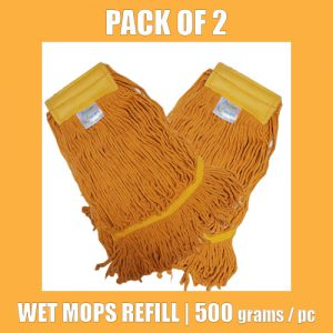 Wet Mop Refill - Yellow