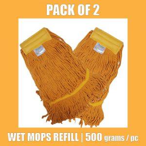 Wet Mop Refill - Yellow