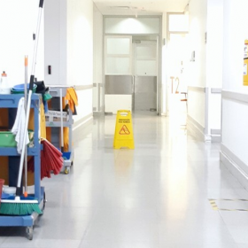 Effective Cleaning of a Healthcare Facility