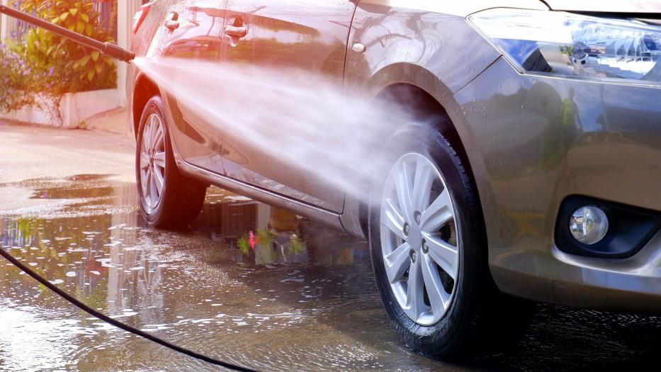 Car wash at home