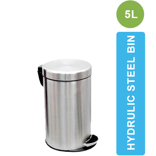 ASD-07-5L Stainless Steel Dustbin with Pedal