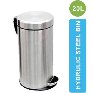 ASD-07-20L Stainless Steel Dustbin with Pedal