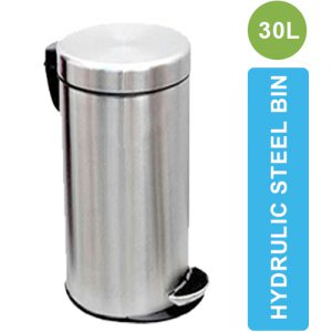 ASD-07-30L Stainless Steel Dustbin with Pedal